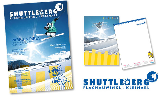 Shuttleberg Drucksorten, Magazin, Briefsorten